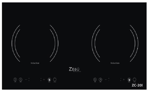 Bếp từ Zegu ZC-20i